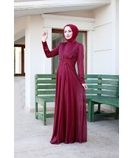 Evening Wear Claret red 2001